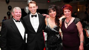 Christopher Todd, with son Karl, daughter Vicky and wife Audrey