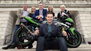 Rea was recognised at Stormont for his achievements.