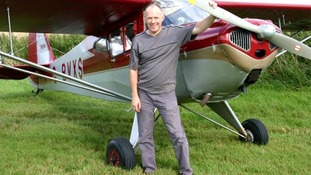 Martin Hickin died after the mid-air collision over Stoughton airfield in December 2011