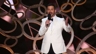 US comedian and talk show host Jimmy Kimmel 'to host 2017 Oscars'