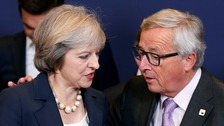 Theresa May refuses to rule out making payments to EU
