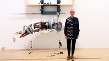 Artist Helen Marten wins Turner Prize 2016