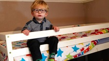 'Missing' toddler found asleep in brother's bunk bed