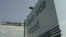 Teesside Airport railway station
