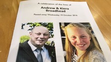 Funeral for father and daughter killed in Wakefield blaze