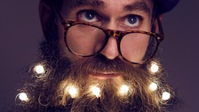 Fairy lights for beards! Most bizarre Xmas accessory?