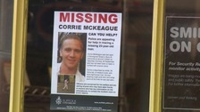 Corrie's grandparents offer five figure reward