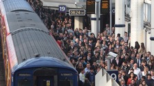 London Waterloo named as busiest station in the country