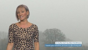 Wales Weather: Murky but mild!