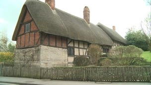 Anne Hathaway&#x27;s cottage in Stratford-upon-Avon