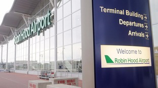 Teenagers detained over breach of security at Doncaster airport