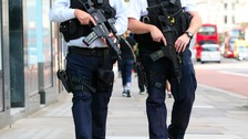 Public warned to expect more armed police on patrol