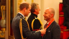 Alan Shearer commends victims of football abuse after picking up CBE