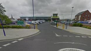 Morrisons supermarket in Blyth.