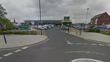 Morrisons supermarket in Blyth.