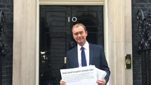 Health cuts petition delivered to Downing Street