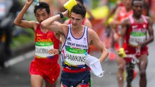 Callum Hawkins runner