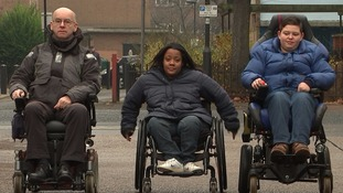 Wheelchair users confront transport bosses over nightmare journeys