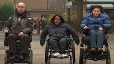 Wheelchair users confront bosses over nightmare journeys