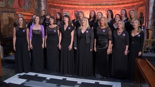 The Military Wives Choir sings Home For Christmas.