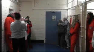 HMP Shrewsbury 'Inmates' join the Mannequin Challenge