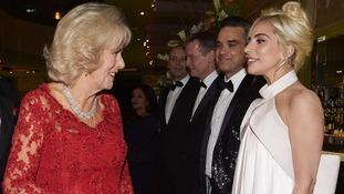 Camilla meets Lady Gaga