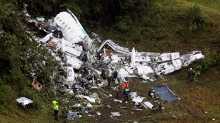 Colombia plane crash: Airline boss could face manslaughter charge