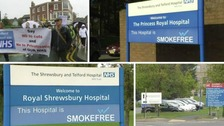 Proposals suggest only having one A & E department in Shropshire