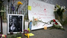 Oakland fire victim's final text: 'I'm going to die mum'