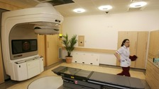 The Trust will benefit from a new radiotherapy machine.