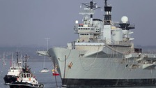 Final voyage for Tyne-built HMS Illustrious