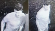 CCTV of a man police think might be able to help them as they investigate an assault