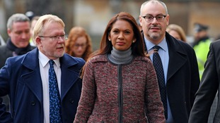 Government challenger Gina Miller arrives at the Supreme Court.