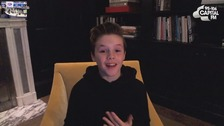 Cruz Beckham releases Christmas single