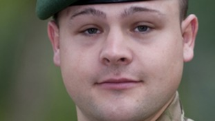 Lance Corporal Foley was killed in Afghanistan on Monday.