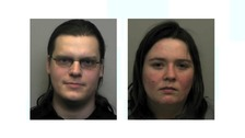 Couple jailed for harming five-week-old baby daughter