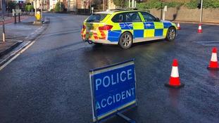 North Road crash