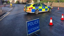 Man dies after car hits wall on main Cardiff road