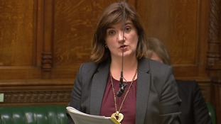Nicky Morgan speaks during the debate.