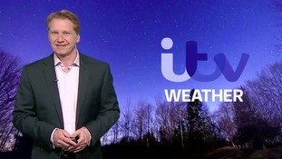 Wednesday night's weather for the east of the region