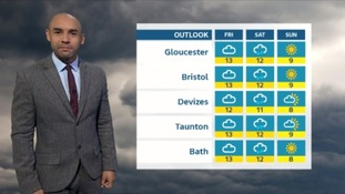 Weather for the West: rain and cloudy as temperatures stay high for the next few days