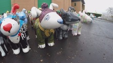 The Great North Snowdogs are heading to their new homes after being auctioned