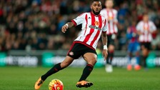 Yann M'Vila playing for Sunderland