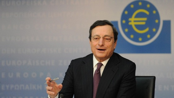 Mario Draghi, the president of the ECB President