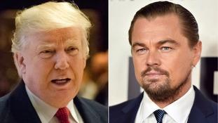Leonardo DiCaprio meets Donald Trump to discuss economic boost of green jobs