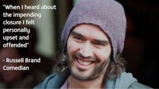 Watch: Russell Brand backs threatened rehab centre - decision due today