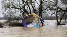 Driver of bus stuck in flood water due in court