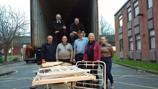 Hospital beds from Leicestershire donated to help civilians fighting in Syria