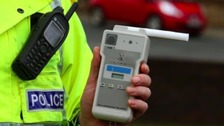 Borders woman caught six times over limit with 2 children in car