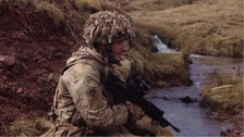 Man jailed for life for off-duty soldier murder in Brecon